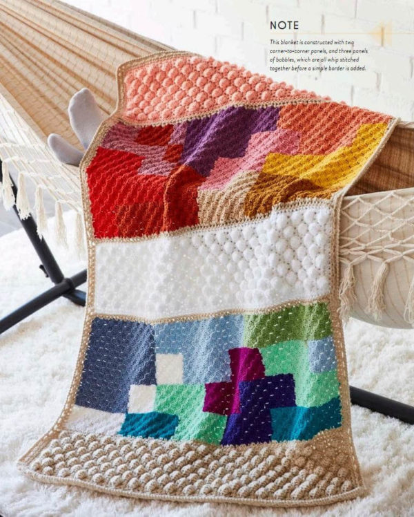 The Art of Crochet Blankets, της Rachele Carmona | The Knitting Club