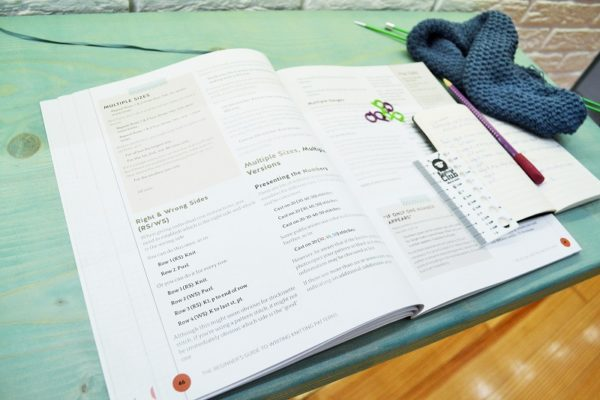 The Beginner's Guide to Writing Knitting Patterns, by Kate Atherley