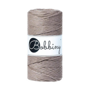 Bobbiny - Macrame Cord Single - Regular 3mm | The Knitting Club